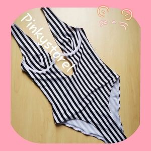 Other - ☻New Retro Classic Stripes Swimsuit☻
